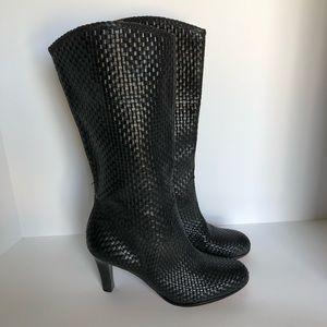 Corso Como Black Tall Boots 9 EUC